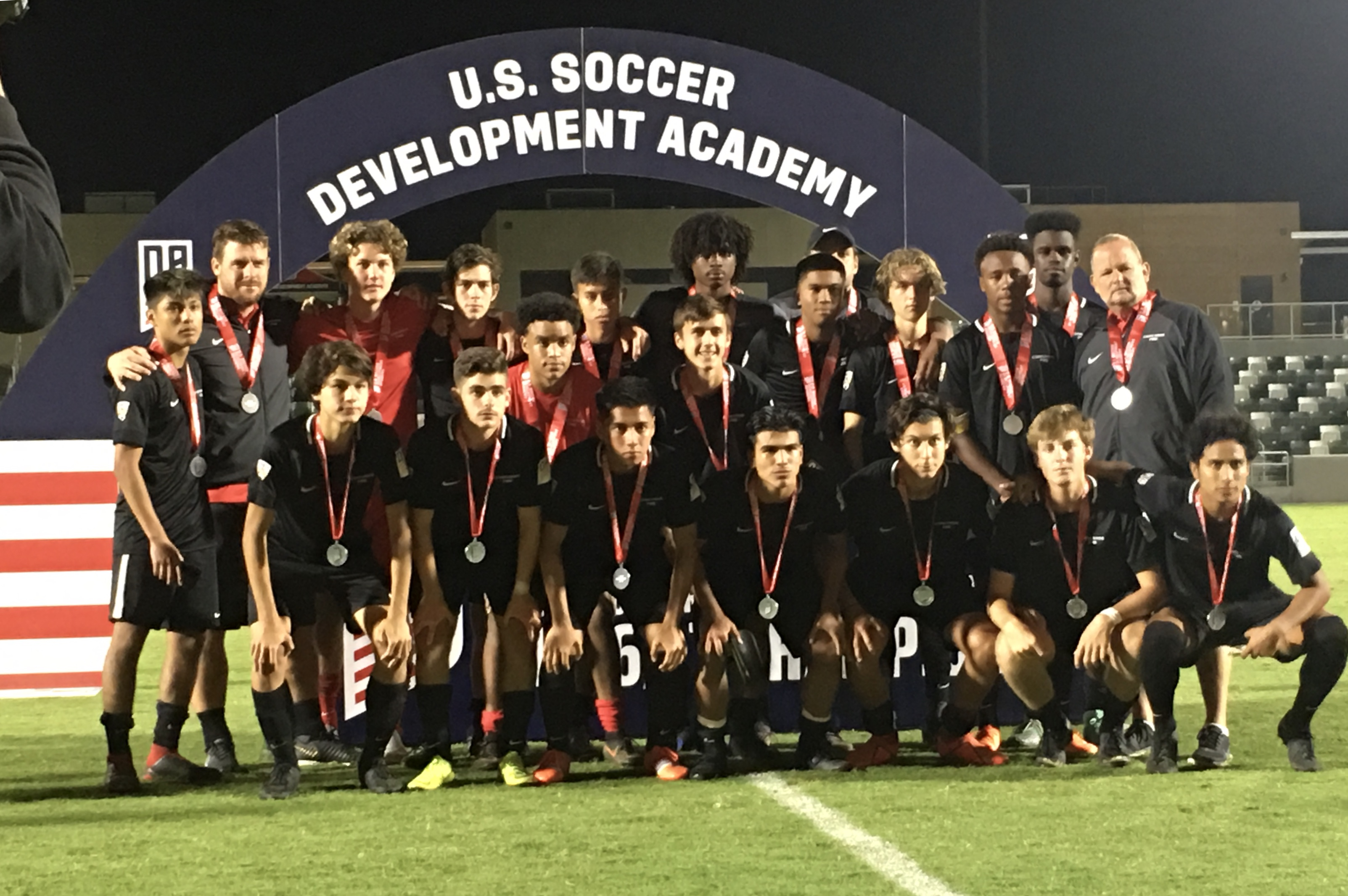 Concorde U17DA Finish the season as Finalist in the Championship game
